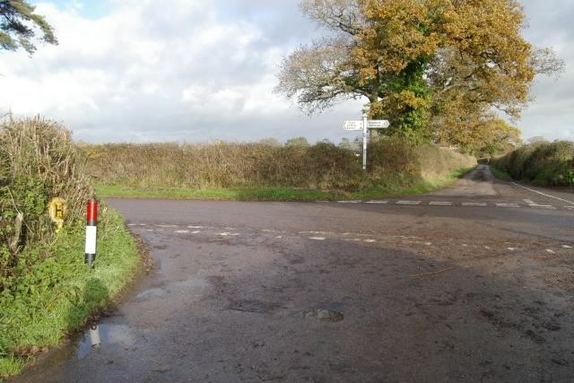 Greendale Cross, Woodbury Salterton