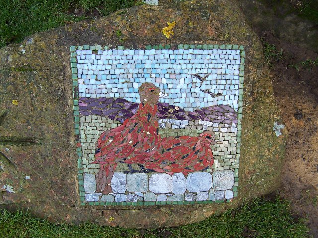 Mosaic on Hawset Rigg