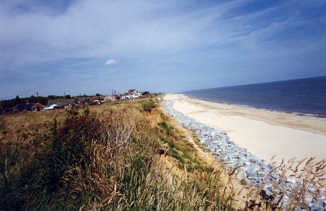 Beach  Scratby Nr Great Yarmouth Norfolk
