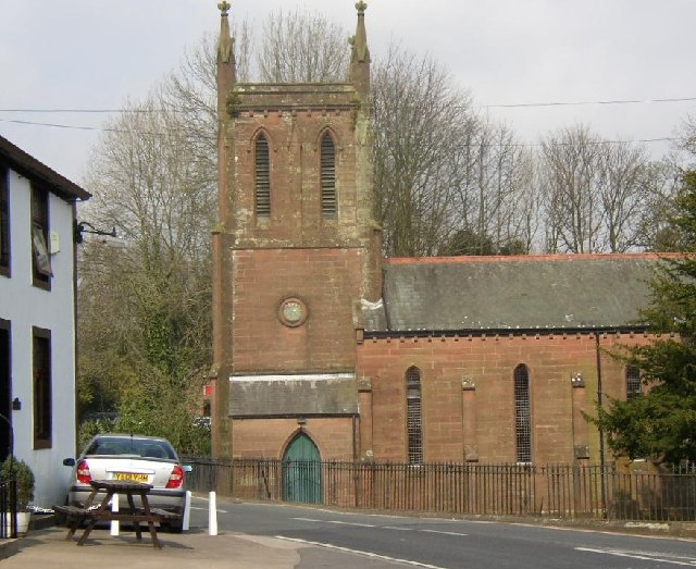 St Bridget's Church, Calder Bridge, St Bridget Beckermet CP, from the SW