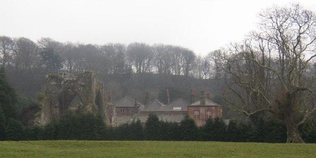 Calder Abbey and Hall, St Bridget Beckermet