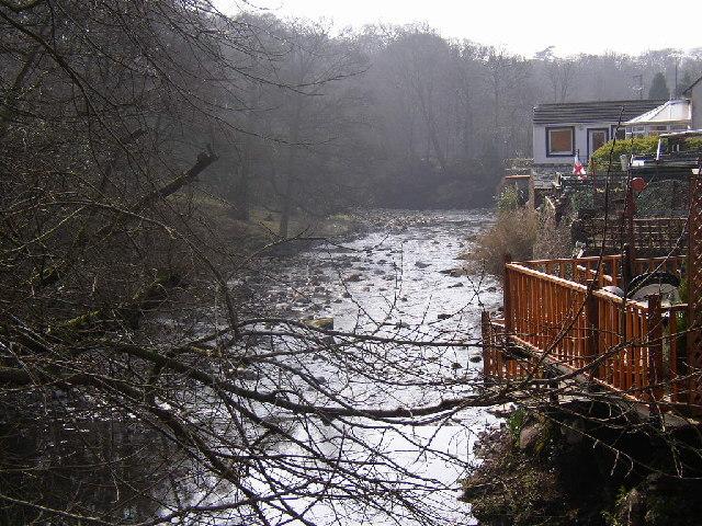 River Calder at Calder Bridge