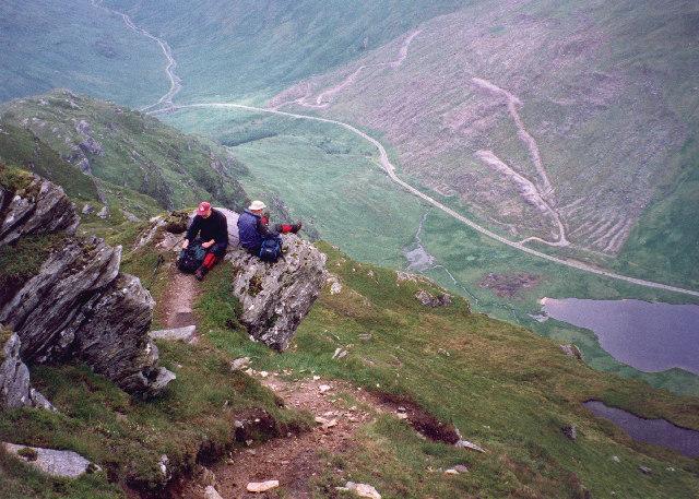 Piece-time on Beinn an Lochain