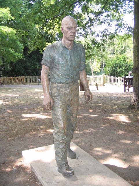 """Walking Man"", Holland Park, Kensington"