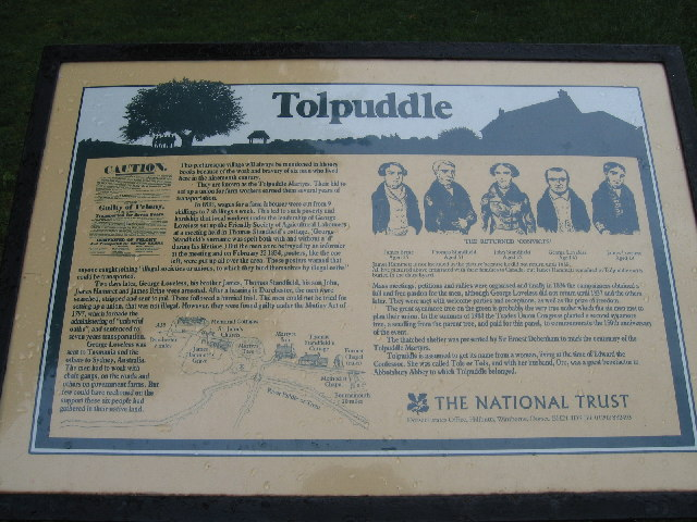 Tolpuddle Martyrs' Memorial