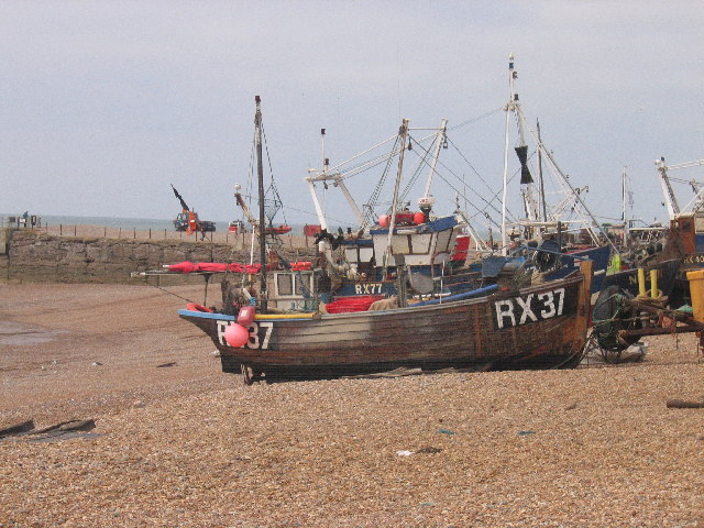 Fishing Boats, Hastings, East Sussex