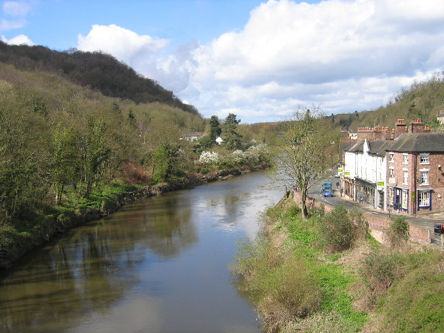 River Severn from the Ironbridge, Shropshire