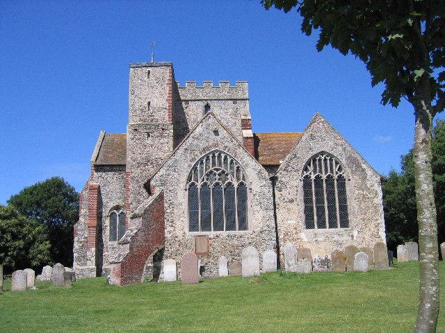 Boughton Aluph Church, Boughton Aluph,  Wye, Kent