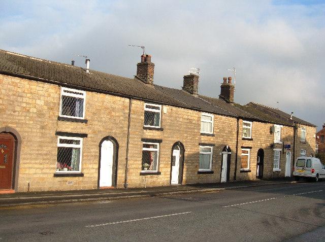 Terraced cottages, Jericho, Bury