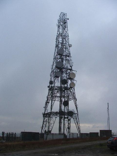 Transmitter Mast next to M62 Jnc.22.