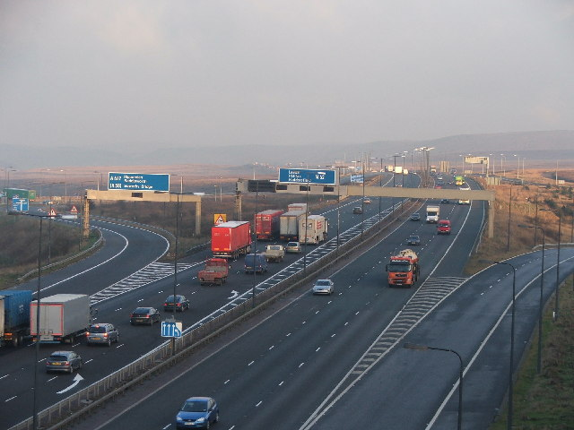 Junction 22 M62