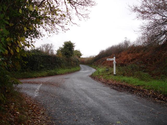 T Junction Nr Warbleton East Sussex