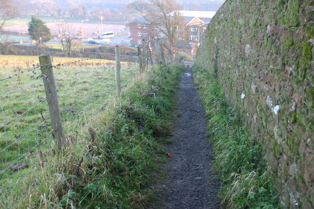 Path to Netherhall School