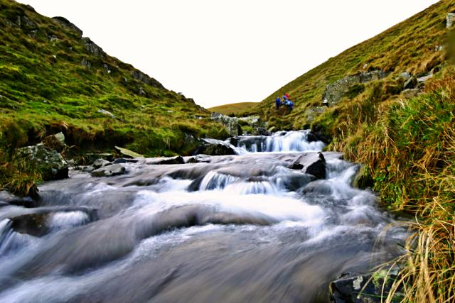 Red Gill Beck, above Cautley Spout