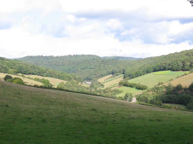 Valley between Newland and Redbrook
