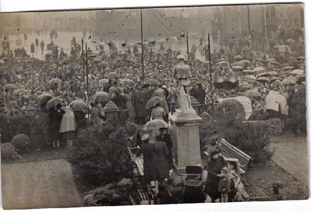 Ferryhill Market Square 1945