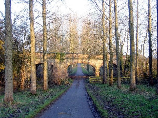 Railway Bridge over the driveway to Umberslade Hall