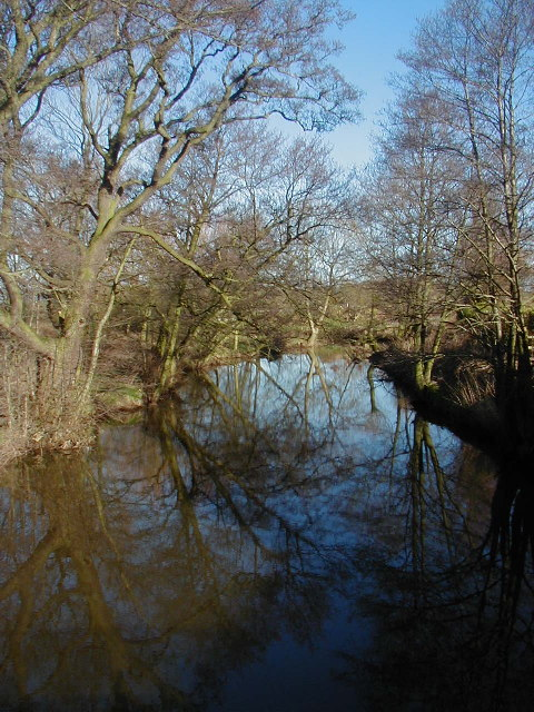 River Churnet at Rocester