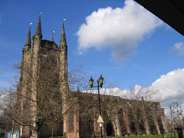 Tamworth Church, Tamworth, Staffordshire