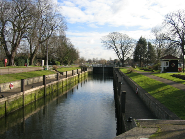 Penton Hook Lock, near Laleham, Middlesex