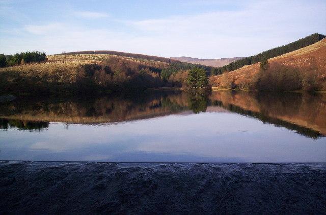 Glenogil reservoir