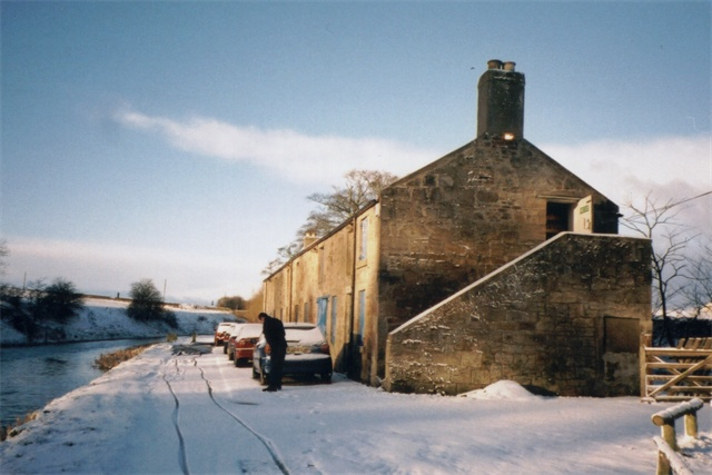Woodcockdale in the snow