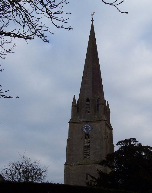 Todenham Church Steeple.