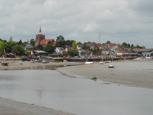 Low tide on the River Blackwater