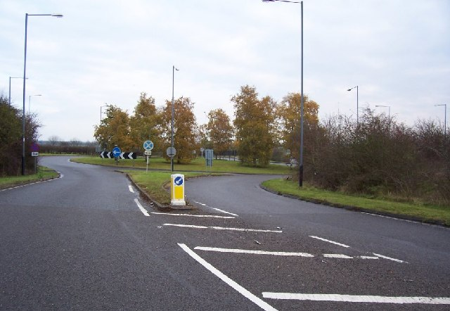 A429 / A3400 Roundabout.