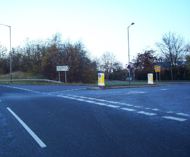 South Entrance to Wellesbourne.