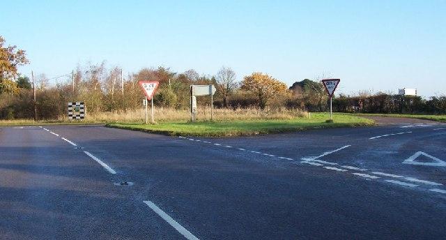 A road maze.