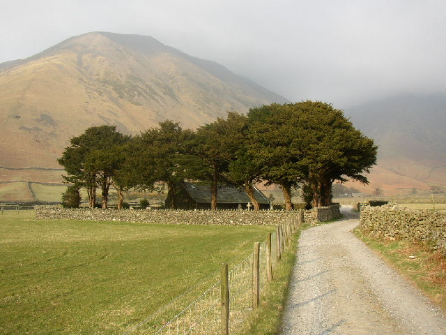 The lane to Wasdale Head Church