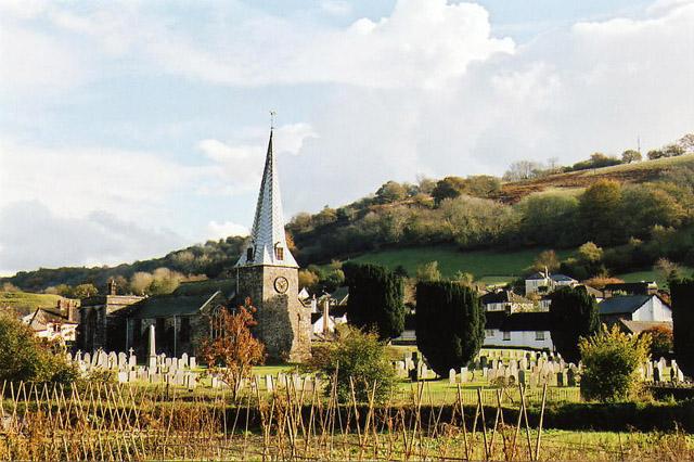 Swimbridge: church and village