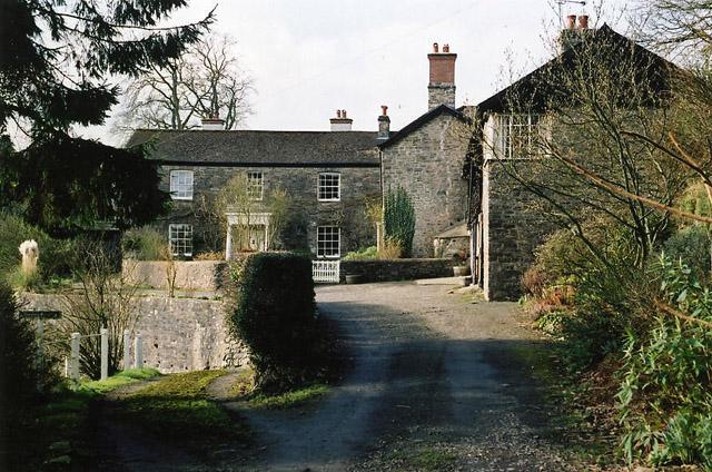 Bampton: entrance to Wonham Barton