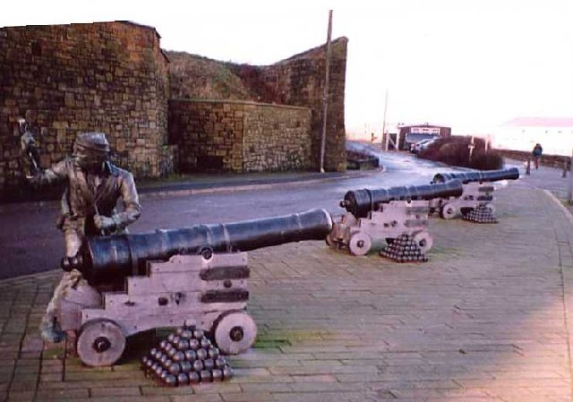 'Gunner' sculpture, Whitehaven