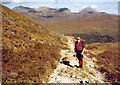 NN2158 : on the West Highland Way by bill copland