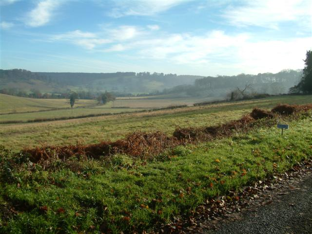 Looking SouthEast from Pishill Chapel