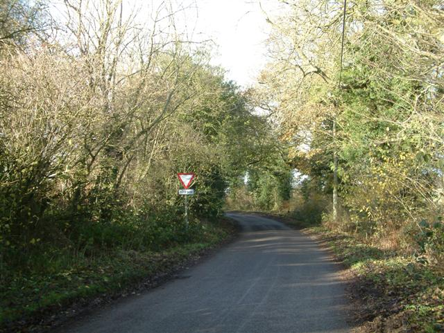 The road from Russell's Water