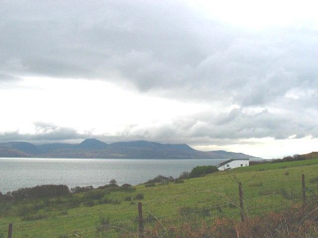 Kilbrannan Sound.