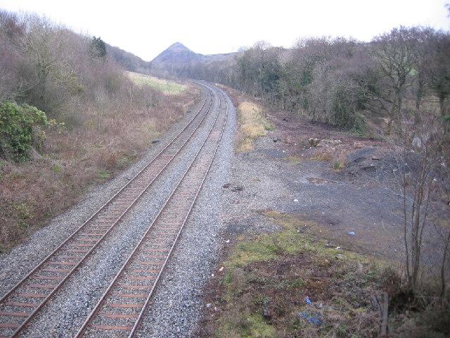 Railway looking northish.