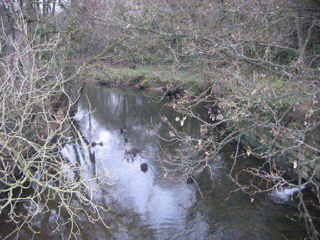 The river Ellen.
