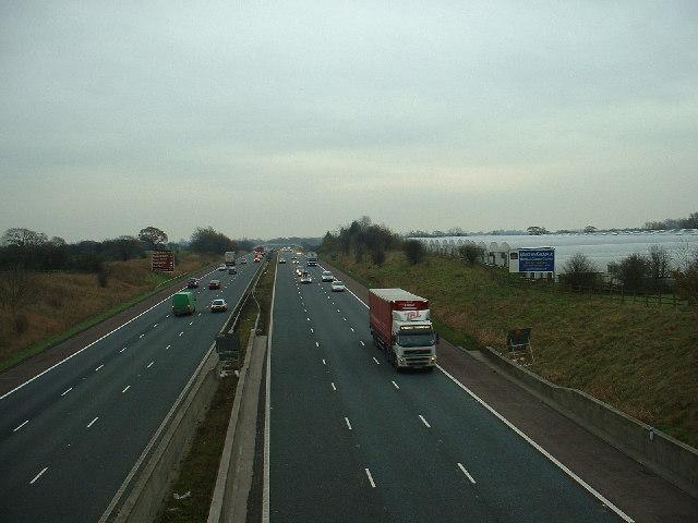 M6 Motorway, Barton