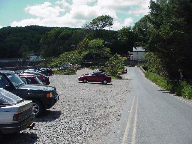 Beach Car Park, Wiseman's Bridge