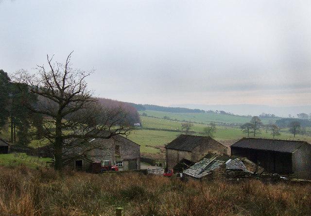 Green Thorn Farm, Longridge Fell