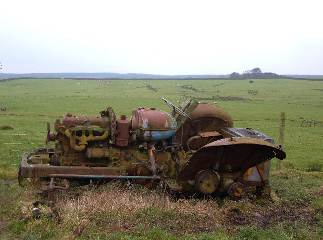 Tractor - Rust in Peace.