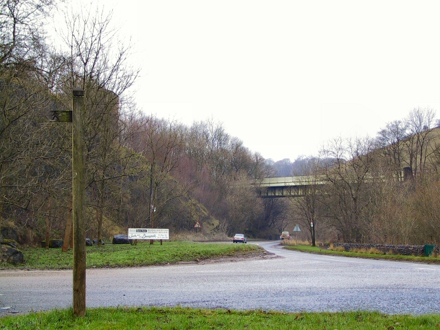 Railway Bridge at Wye Dale