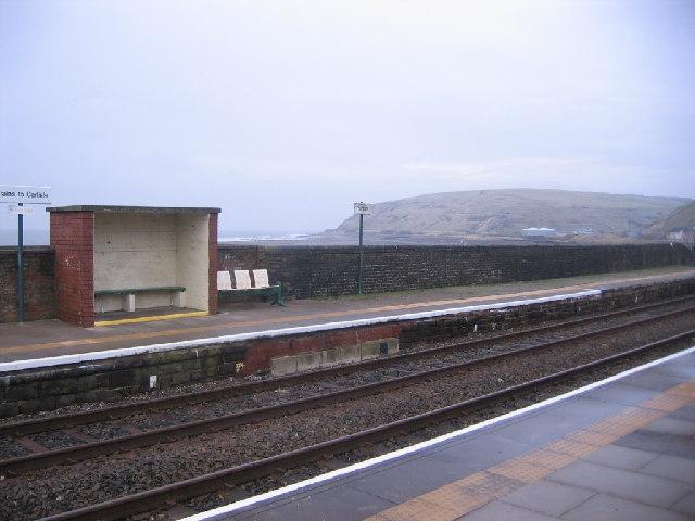 Parton Railway Station.