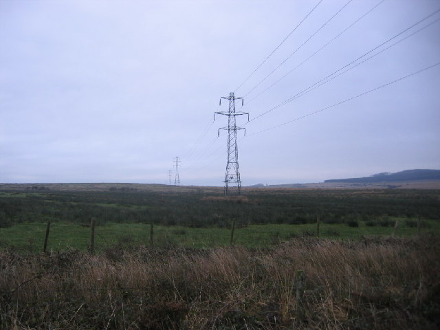 Moorland Powerlines.