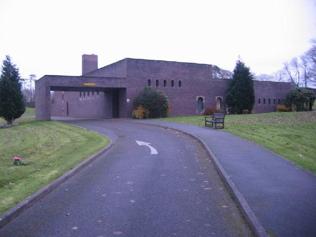 Distington Crematorium.