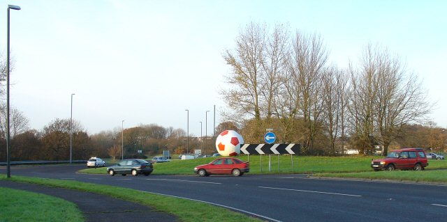 A23/A2004 Roundabout.